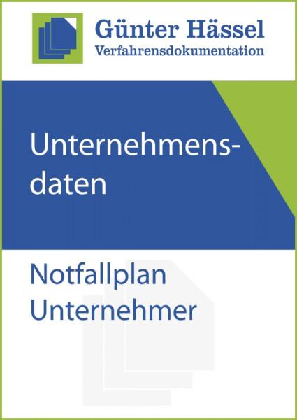 Notfallplan Unternehmer
