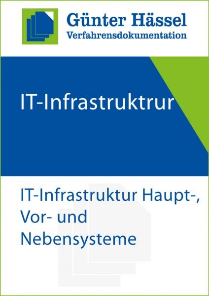 Verfahrensdokumentation IT-Infrastruktur: Haupt-, Vor- und Nebensystem