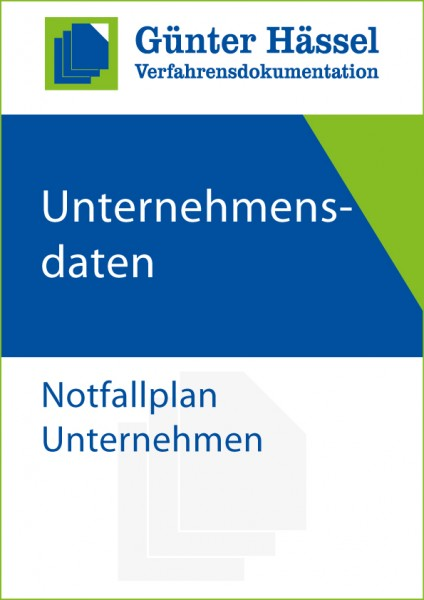 Verfahrensdokumentation Notfallplan Unternehmen