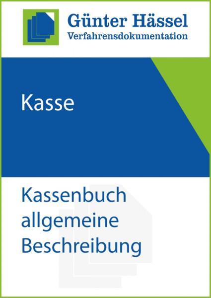 Kassenbuch allgemeine Beschreibung