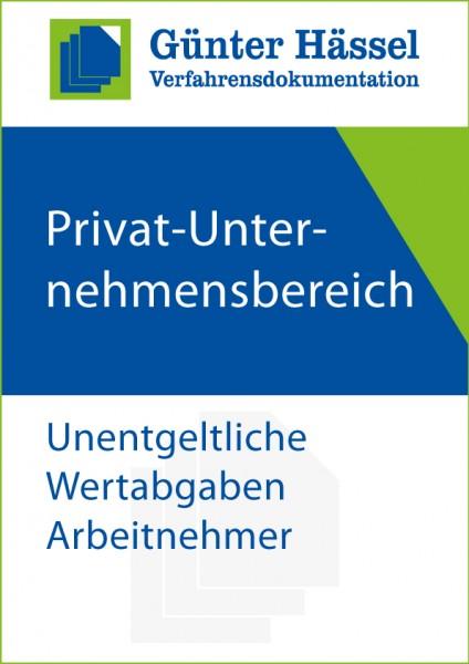Privat-Unternehmensbereich Unentgeltliche Wertabgaben Arbeitnehmer