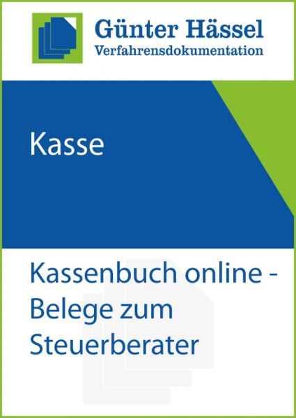 Kassenbuch online mit Belegen zur Steuerkanzlei