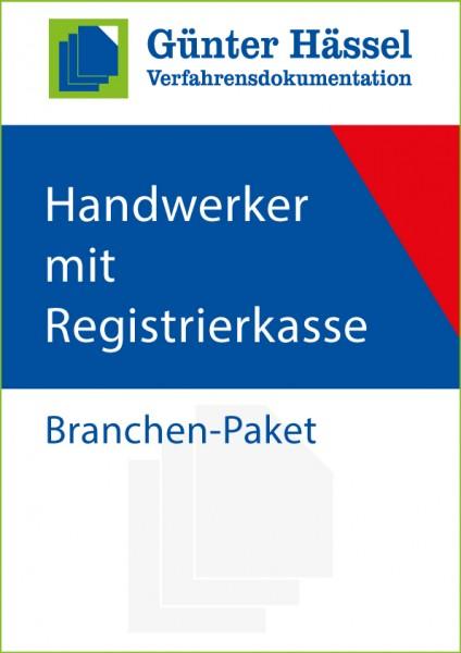 Handwerker mit Registrierkasse - Branchenpaket