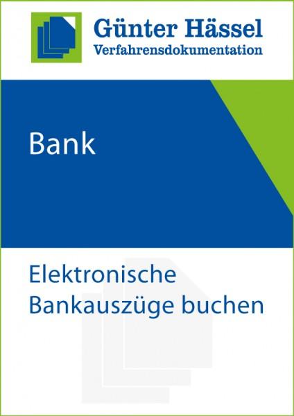 Bank-Buchen elektronisch