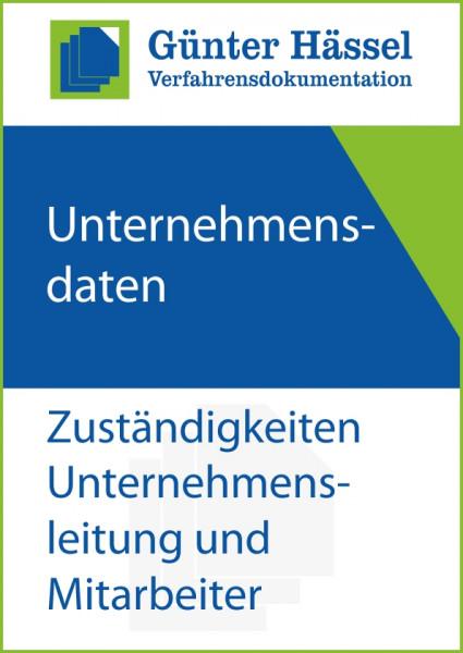 Zuständigkeiten Unternehmensleitung und Mitarbeiter