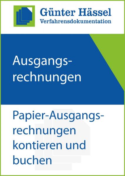 Ausgangsrechnungen Papier kontieren und buchen
