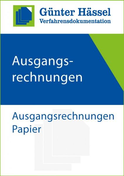 Ausgangsrechnungen Papier