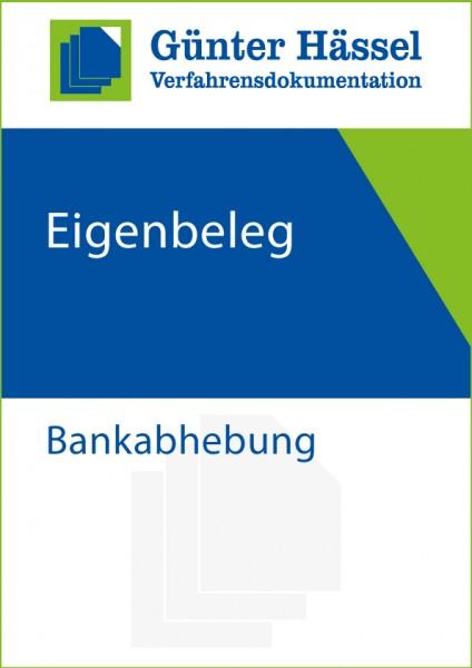 Eigenbeleg Bankabhebung