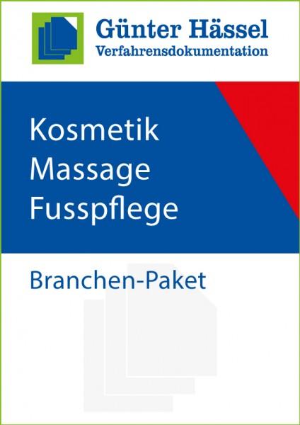 Dienstleister Kosmetik-Massage-Fusspflege-Salons, Nagel-Studios - Branchenpaket