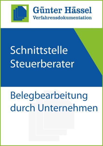 Schnittstelle Steuerberater- Belegbearbeitung Unternehmen