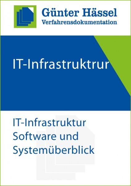Verfahrensdokumentation IT-Infrastruktur Software und Systemüberblick
