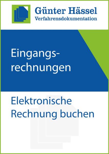 Eingangsrechnungen Elektronische Rechnung buchen