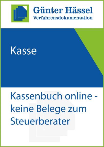 Kassenbuch online ohne Belege zur Steuerkanzlei
