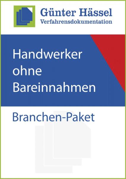 Handwerker ohne Bareinnahmen - Branchenpaket