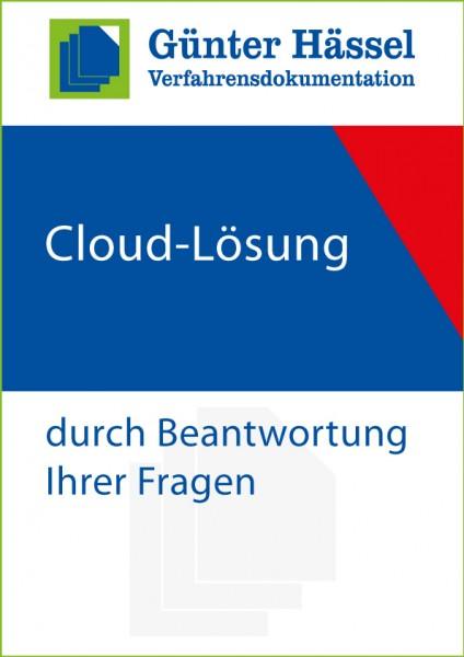 Cloud-Lösung durch Beantwortung Ihrer Fragen
