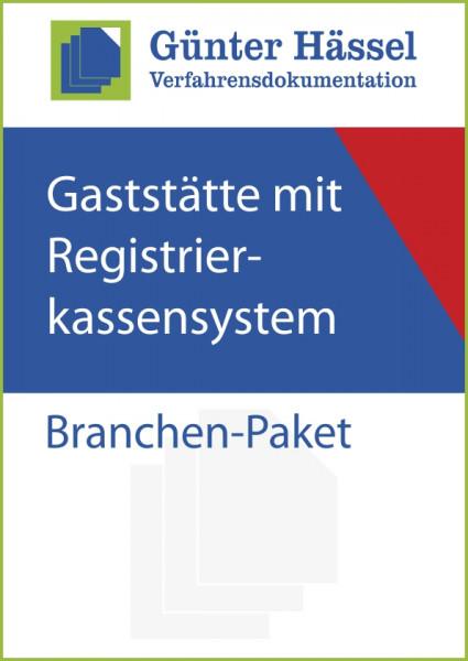 Gastronomie Gaststätte mit Registrierkassensystem - Branchenpaket